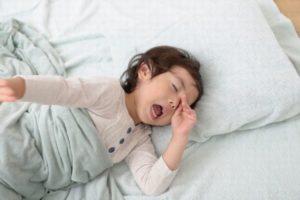 子供の昼寝